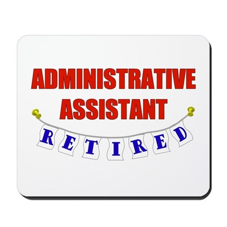 Retired Administrative Assist Mousepad