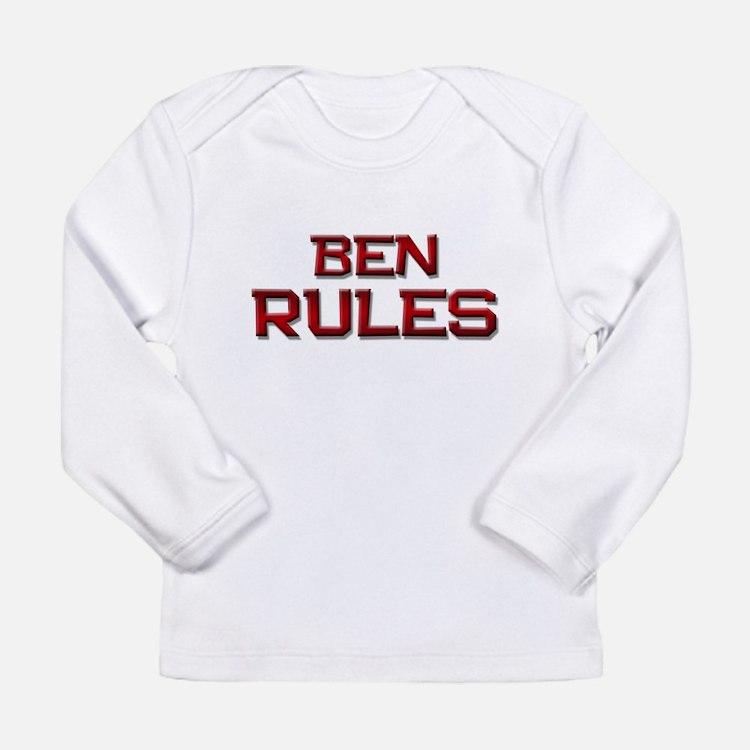 ben rules Long Sleeve T-Shirt