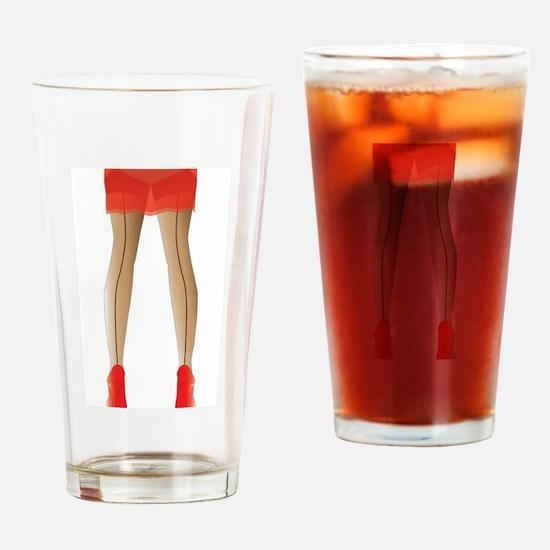 Stocking Legs Drinking Glass