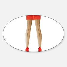 Stocking Legs Decal