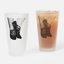 Cute Scottish highland dancer Drinking Glass