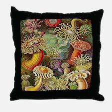 Cute Anemone Throw Pillow