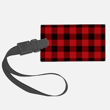 Cottage Buffalo Plaid Lumberjac Luggage Tag