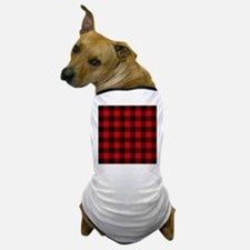 Cottage Buffalo Plaid Lumberjack Dog T-Shirt