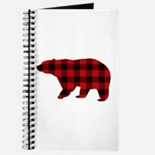 lumberjack buffalo plaid Bear Journal