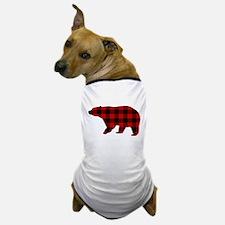 lumberjack buffalo plaid Bear Dog T-Shirt