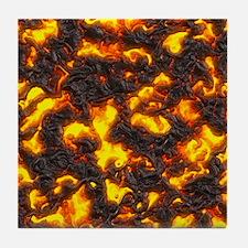 Hot Lava Tile Coaster