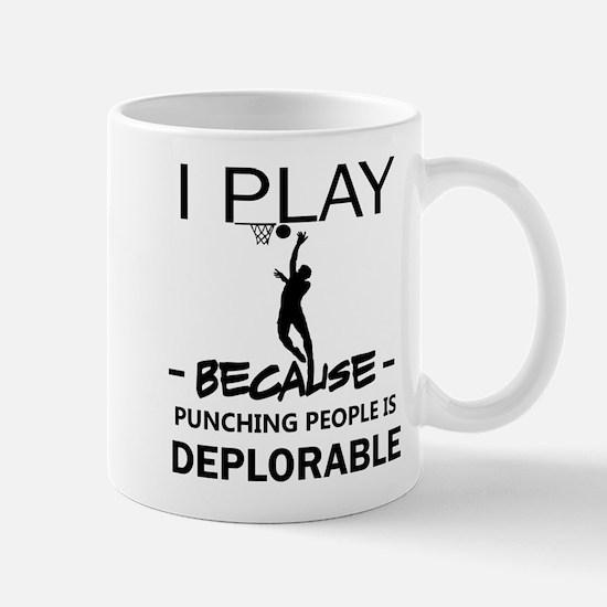 I play netball Mugs