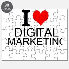 I Love Digital Marketing Puzzle
