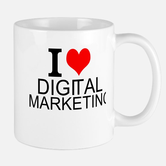 I Love Digital Marketing Mugs