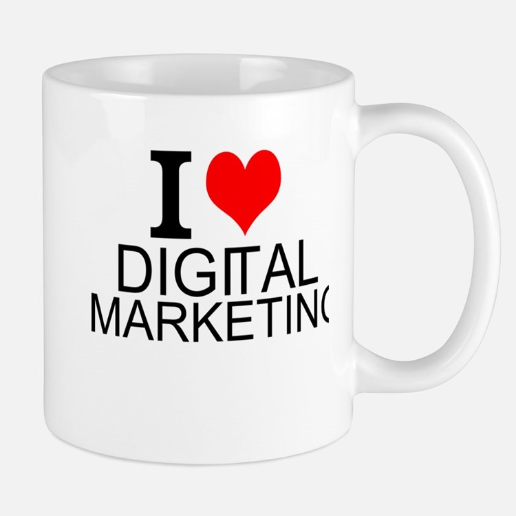I Love Digital Marketing Mugs