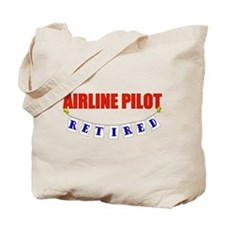 Retired Airline Pilot Tote Bag