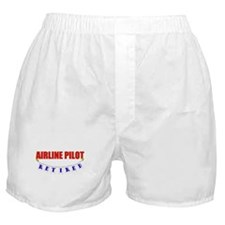 Retired Airline Pilot Boxer Shorts