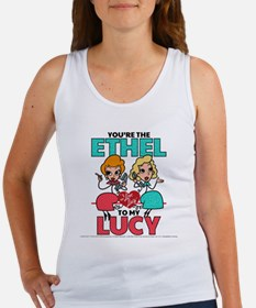 Ethel to my Lucy Women's Tank Top