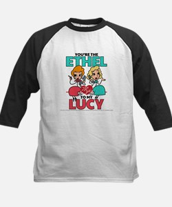 Ethel to my Lucy Kids Baseball Jersey