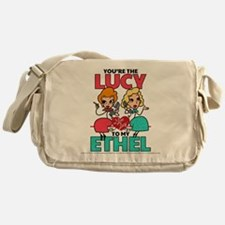 Lucy to my Ethel Messenger Bag