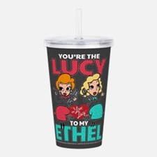 Lucy to my Ethel Acrylic Double-wall Tumbler