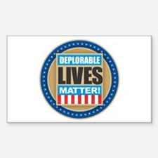 Deplorable Lives Matter Decal