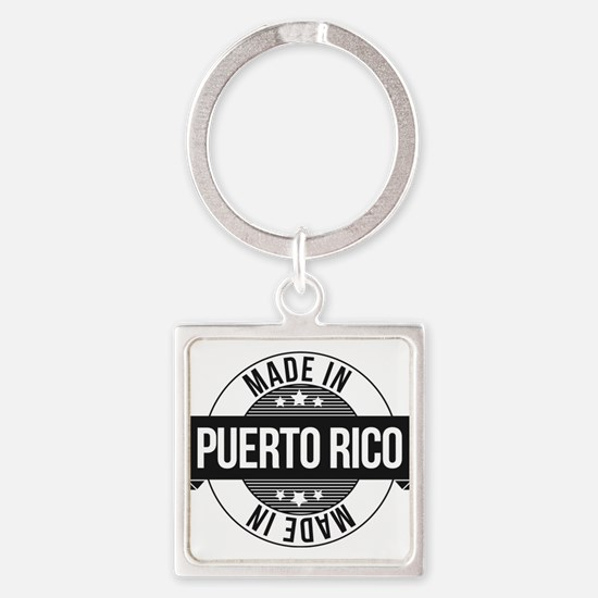 Made in Puerto Rico Keychains