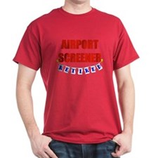 Retired Airport Screener T-Shirt