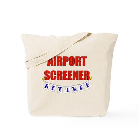 Retired Airport Screener Tote Bag