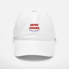 Retired Airport Screener Baseball Baseball Cap