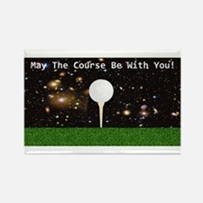 Golf Galaxy Rectangle Magnet