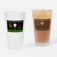 Golf Galaxy Drinking Glass