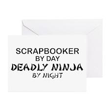Scrapbooker Deadly Ninja Greeting Cards (Pk of 10)