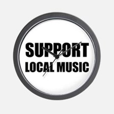 Support Local Music Wall Clock