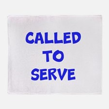 Call to serve Throw Blanket
