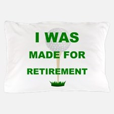Funny Golf retirement Pillow Case