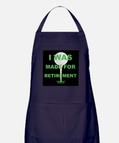 Cute Golf cart humor Apron (dark)