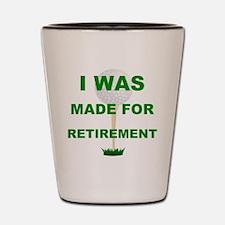Happy retirement Shot Glass