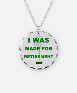 Funny Retirement golf Necklace