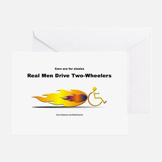 """Real Men"" Greeting Cards"
