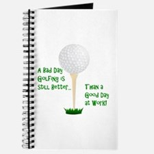 Cute Golf retirement Journal