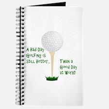 Unique Retirement golfers Journal