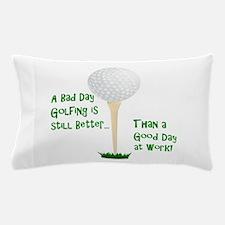 Cute Golf retirement Pillow Case