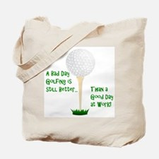 Cute Grandpa golf Tote Bag