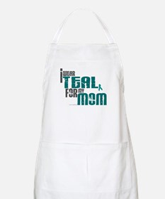 I Wear Teal For My Mom 6 BBQ Apron