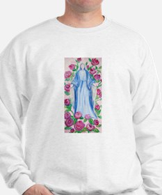 Mary-In-Her-Rosary_by_CMRose-July2009.j Sweatshirt