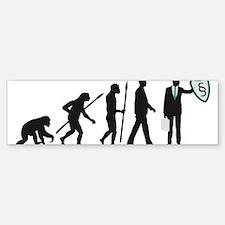 Evolution Lawyer Bumper Bumper Bumper Sticker