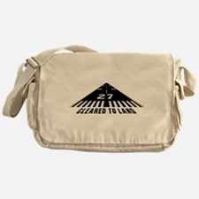 Aviation Cleared To Land Runway 27 Messenger Bag