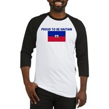 PROUD TO BE HAITIAN Baseball Jersey