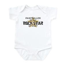 Paintballer Rock Star Infant Bodysuit