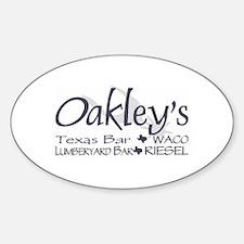 Oakley's Lumberyard Stickers