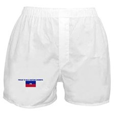 PROUD TO BE A HAITIAN GRANDPA Boxer Shorts