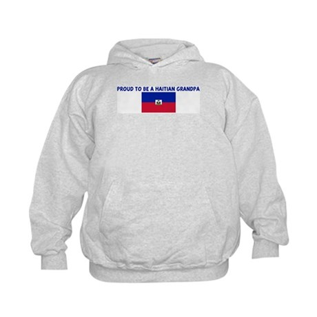 PROUD TO BE A HAITIAN GRANDPA Kids Hoodie