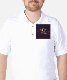Dreamcatcher Moon Golf Shirt